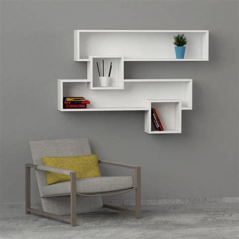 libreria a muro design come aggiungere colore e stile alle pareti della casa con