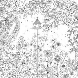 secret garden coloring book secret garden an inky treasure hunt and coloring book