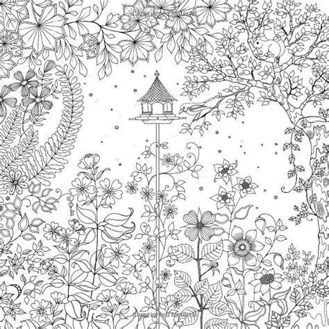 secret garden colouring book pages secret garden an inky treasure hunt and coloring book