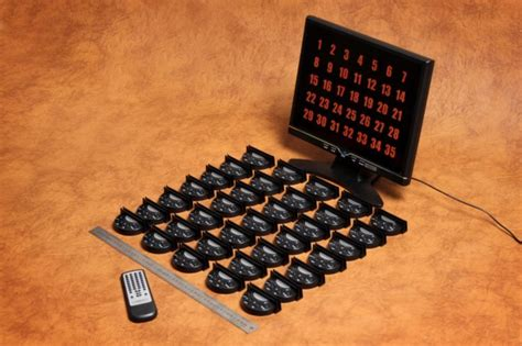 easywireless waiter call system wireless call system
