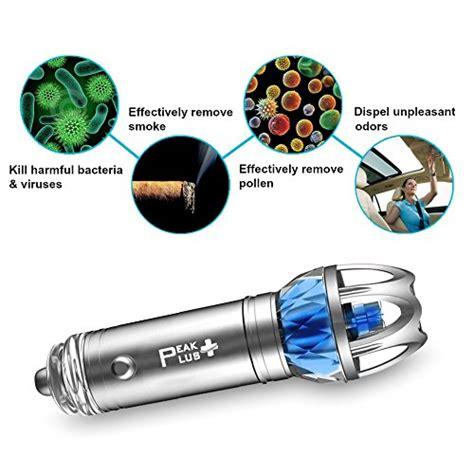 best car air purifier ionizer freshener by peakplus removes dust pollen smoke odor
