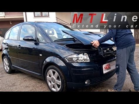 Audi A2 Motorhaube by Audi A2 How To Remove Install Back Engine Cover Kako
