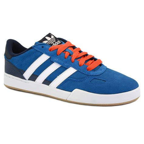 Adidas Viero Blue Black adidas ciero update g56521 mens laced suede leather trainers blue white