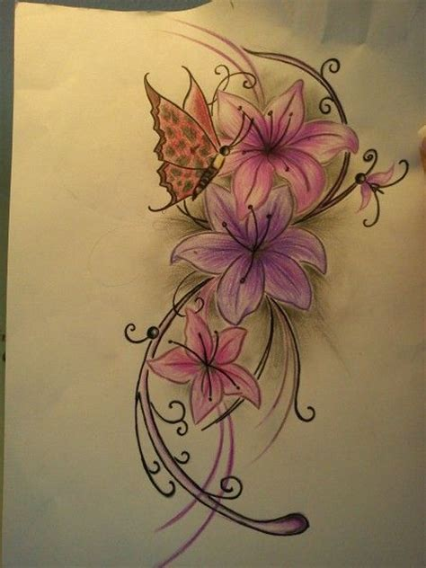 tattoo 3d flower matching key and heart tattoos 3d tattoo designs flowers