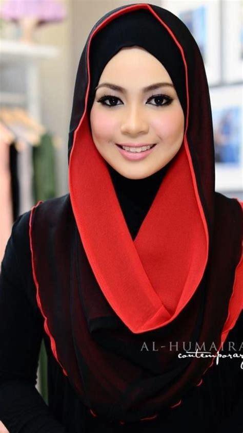 hijab draping styles red black hoodie hijabi pinterest black hoodie red