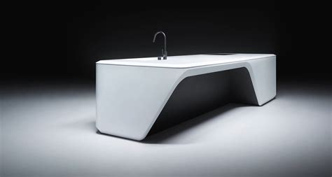 corian design zaha hadid design unveils corian dominated custom kitchen