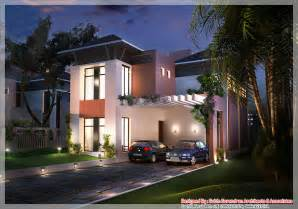 Indian Home Design 2011 Modern Front Elevation Ramesh by Kerala House Plans And Elevations Keralahouseplanner Com