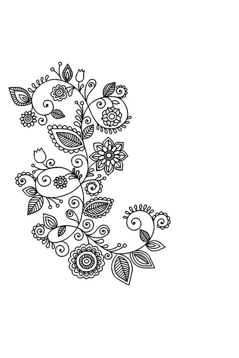 henna tattoo art lesson simple henna clipart makedes