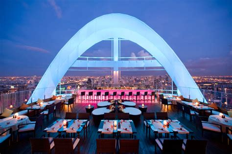 roof top bars in bangkok red sky