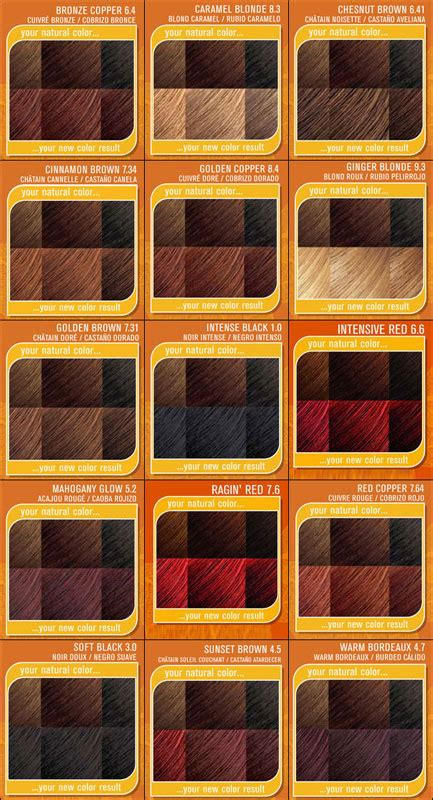 creme of nature hair color chart creme of nature creme of nature shine color with