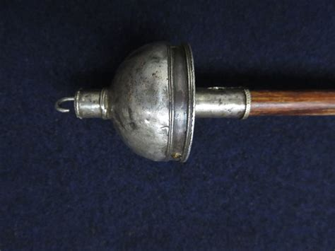 Handcrafted Drop Spindles - turkmen ersary silver top handmade drop spindle