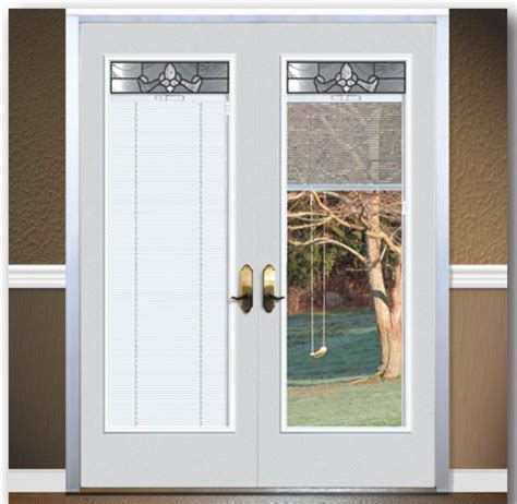 Exterior Door With Blinds Patio Door With Blinds Between Glass Home Design Ideas And Pictures