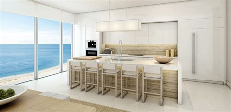 1 hotel and homes penthouse kitchen new build homes
