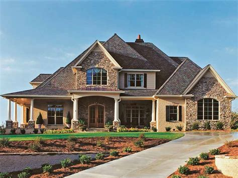 New Home Design Products New American House Plans And Designs At Eplans New