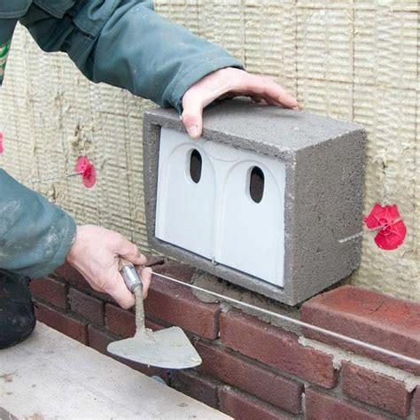 vivara pro woodstone house sparrow nest box nhbs
