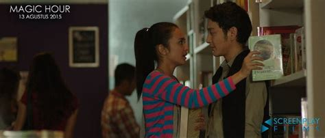 video film magic hour ciuman romantisme cinta dimas anggara michelle ziudith di