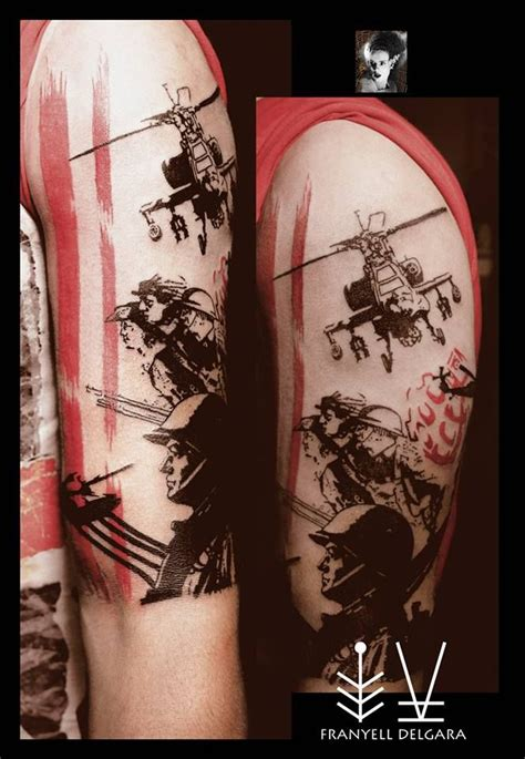 tattoo of us streaming 13 best images about military tattoos on pinterest