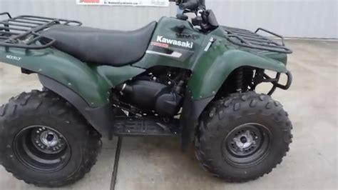 2007 Kawasaki Prairie 360 4x4 2007 kawasaki prairie 360 4x4 green
