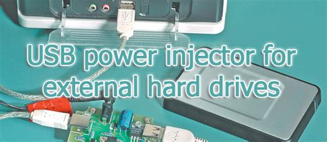 Usb Power Injector silicon chip usb power injector for external