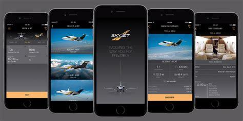 jet mobile app skyjet your 1 jet charter app mobilevillage 174