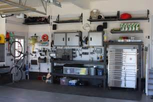 Garage Organization Design large modern garage design after remodel with high ceiling