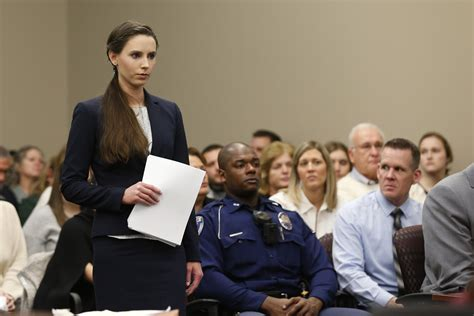 Ingham County Circuit Court Search Rachael Denhollander On Cost Of Accusing Larry Nassar Time
