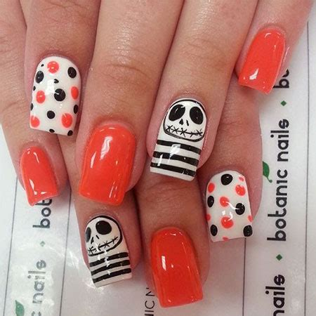 easy nail art halloween 20 simple easy halloween themed nails art designs 2016