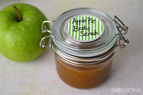 Scrub Msi diy apple pie scrub