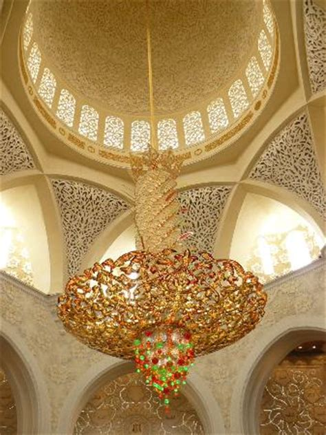 Sheikh Zayed Grand Mosque A Large Chandelier Picture Of Sheikh Zayed Mosque Chandelier