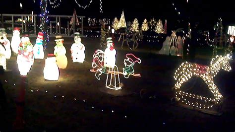 christmas lights display to music in lafayette indiana