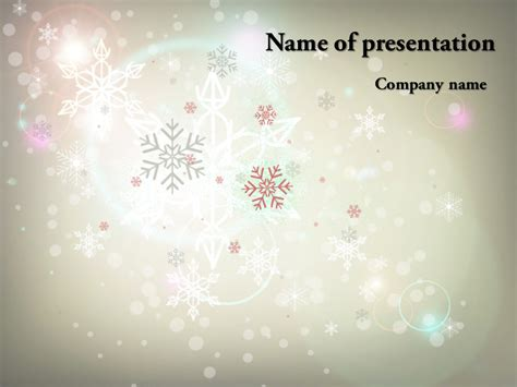 Free Winter Powerpoint Template Background For Presentation Free Free Winter Powerpoint Templates