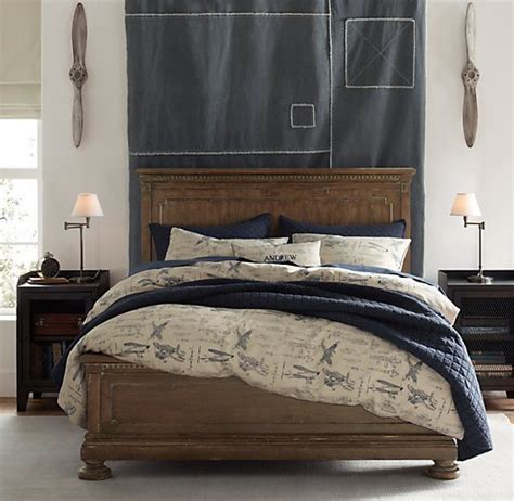 vintage airplane bedding vintage airplane blueprint vintage washed percale bedding collection
