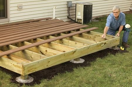 How To Build A Deck by How To Build A Wooden Deck