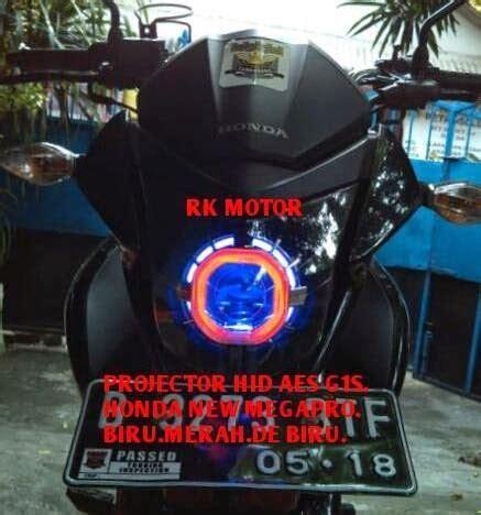 Lu Projector New Megapro rk motor lu projector hid lu led cree