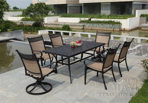 Cheap Metal Patio Furniture by Get Cheap Cast Aluminum Patio Furniture Aliexpress