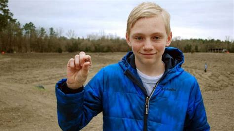 14 year old buys house 14 year old boy finds nearly 8 carat diamond at state park houston chronicle