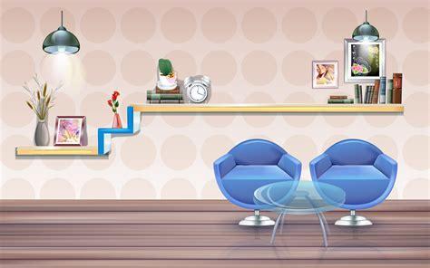 wallpaper cartoon study vector room wallpapers hd wallpapers 83514