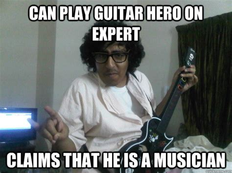 An Hero Meme - guitar hero memes