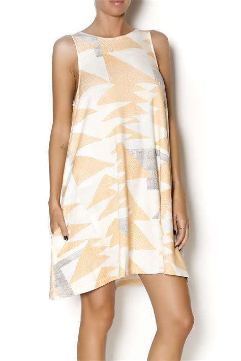 peach swing dress mara hoffman peach swing dress from chicago by moon voyage