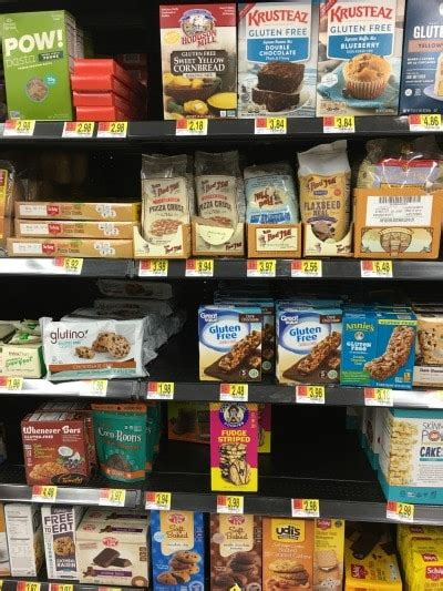 gluten free section at walmart gluten free products at walmart