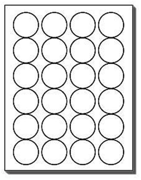 Amazon Com 480 Label Outfitters 174 Round Labels 24 Per Sheet 1 5 8 Inch Diameter Round White 2 1 2 Inch Diameter Circle Template