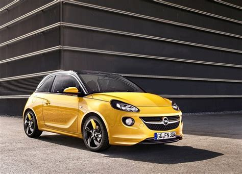 opel adam yellow opel adam red and yellow www oopscars com