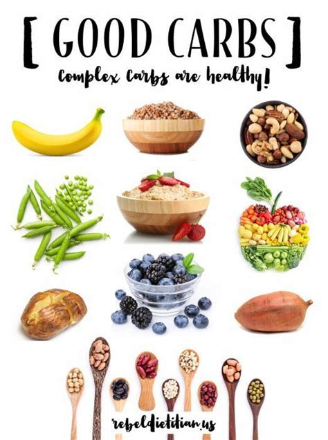 carbohydrates unhealthy carbs complex carbs are healthy http