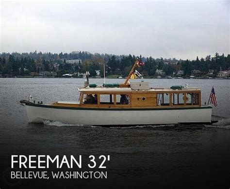 freeman classic boats freeman 32 custom classic for sale in bellevue wa for