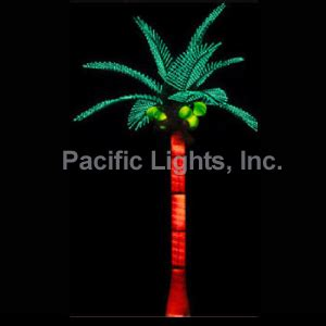 tiara coconut lighted palm tree pacific lights inc led