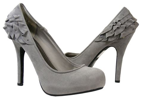 bridesmaid shoes on grey heels grey - Grey Bridesmaid Shoes