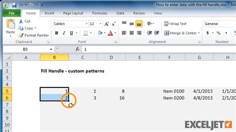 pattern fill shape excel excel tutorial how to enter custom patterns with the fill