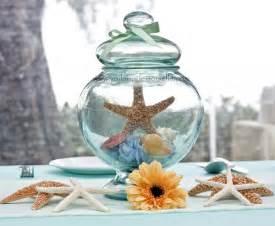centerpieces for the sea theme wedding decoration 171 voila mademoiselle s