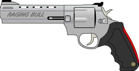 pistol gun clip art free vector 4vector