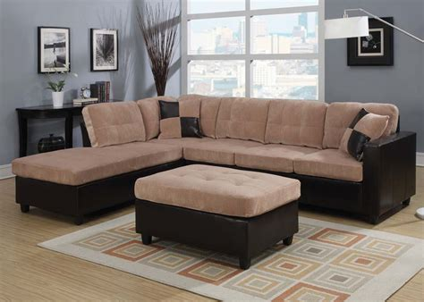 corduroy sectional fabric sectionals two tone sectionals contemporary